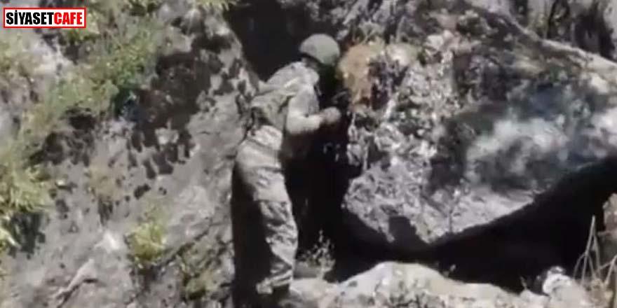 MSB duyurdu: Komandolarımız teröristlerin ininde...