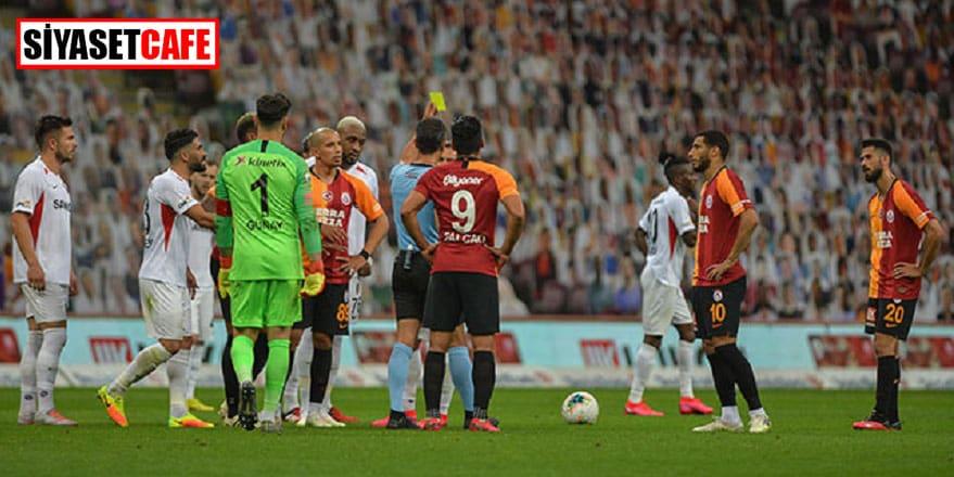 Galatasaray ve Gaziantep yenişemedi: 3-3