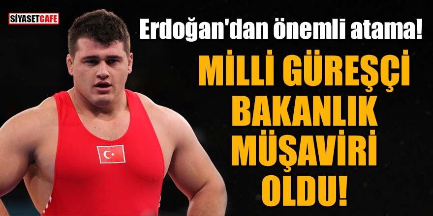 Erdoğan'dan önemli atama! Milli güreşçi Rıza Kayaalp bakanlık müşaviri oldu