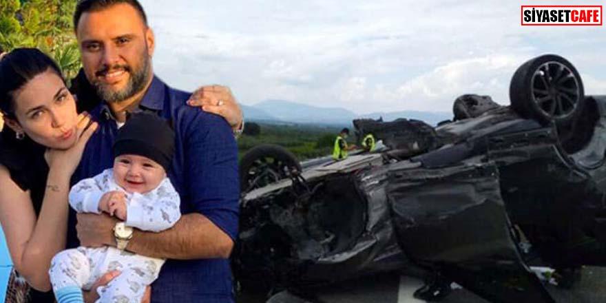 Şarkıcı Alişan kaza yaptı! Hurdaya dönen araçta eşi ve oğlu da vardı...
