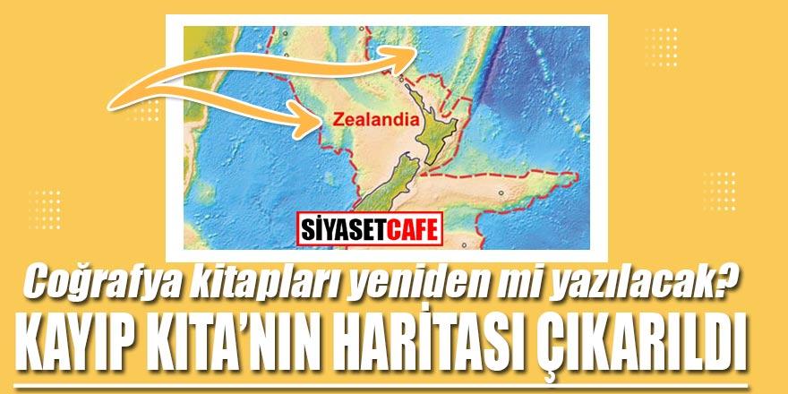 Coğrafya kitapları yeniden mi yazılacak? Kayıp kıta Zelandia'nın haritası çıkarıldı