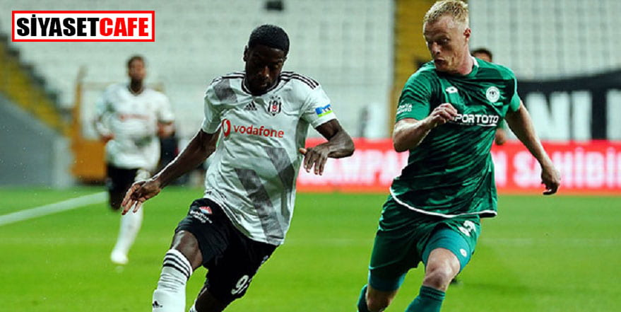 Beşiktaş, 3 puanı 3 gol ile aldı: 3-0