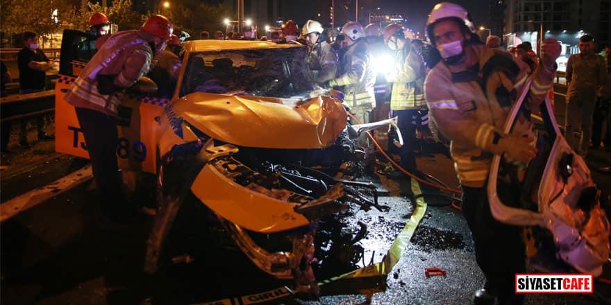 İstanbul Küçükçekmece'de feci kaza! Ölü ve yaralılar var
