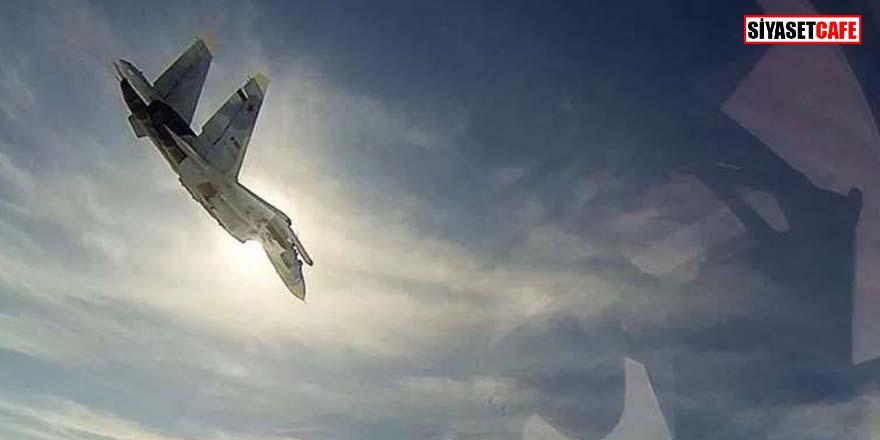ABD ve Rus uçakları arasında tehlikeli yakınlaşma!