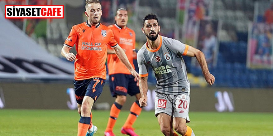 Başakşehir ve Galatasaray yenişemedi: 1-1