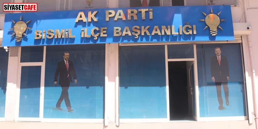 AK Parti İlçe Başkanlığına molotofkokteyli saldırı! 2 kişi gözaltına alındı