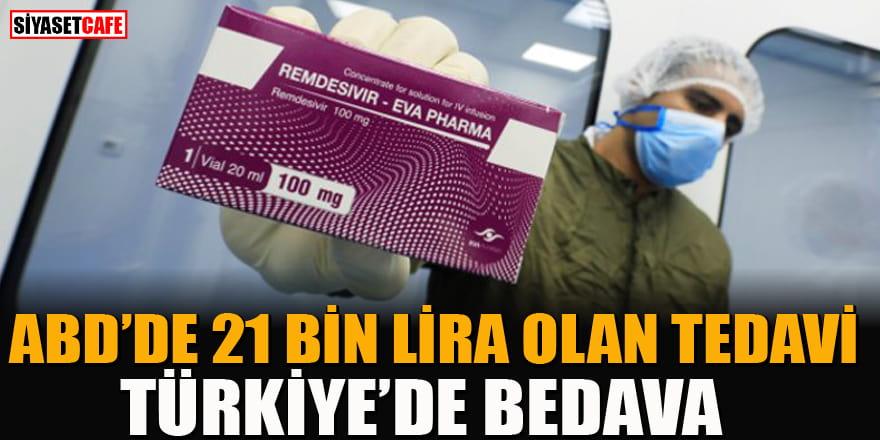 ABD'de korona tedavisinde kullanılan ilacın (Remdesivir) fiyatı belirlendi! Türkiye'de ise bedava...