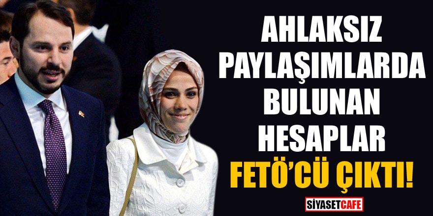 Albayrak çifti hakkında ahlaksız paylaşımlarda bulunan hesaplar FETÖ'cü çıktı