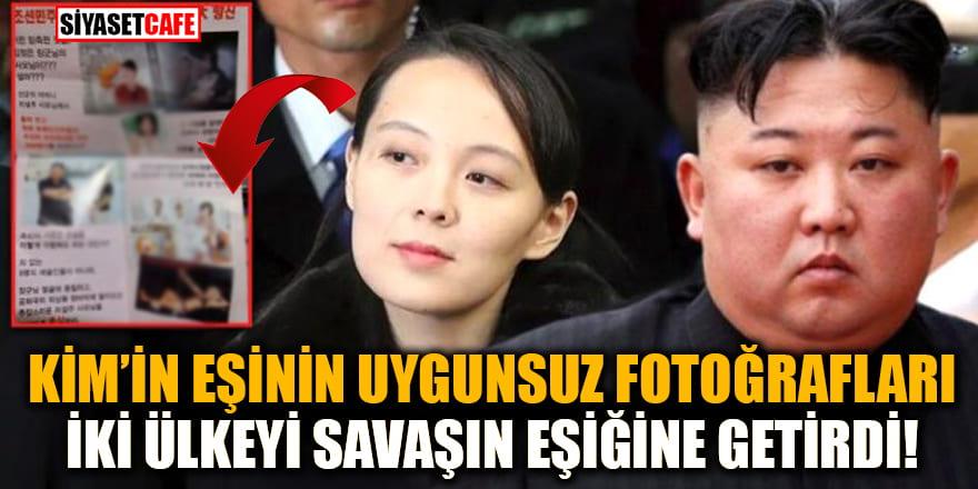 Güney Kore ile Kuzey Kore arasındaki krizin asıl nedeni Kim Jong-Un'un eşinin uygunsuz fotoğraflarıymış!