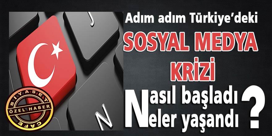 """Adım Adım Türkiye'deki """"Sosyal Medya Krizi""""..Nasıl başladı, neler yaşandı?"""