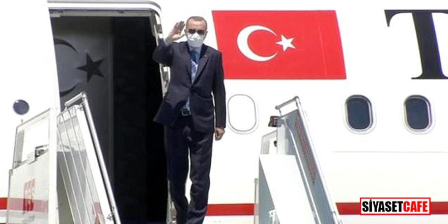 Cumhurbaşkanı Erdoğan normalleşme sonrası ilk kez yurt dışına çıkıyor