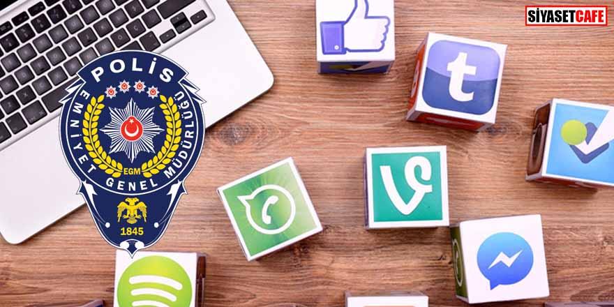 EGM'den sosyal medya açıklaması: İnfial yaratan içerikler takip edilmekte...
