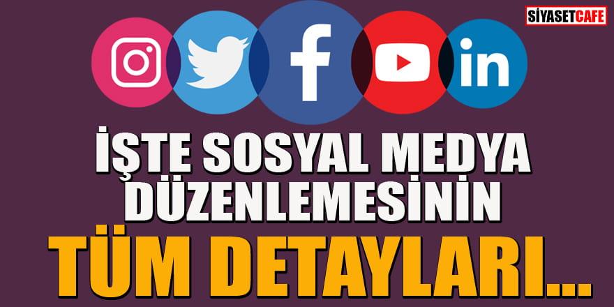 Flaş! Sosyal medya yasasının ayrıntıları belli oldu! İşte ceza miktarları...