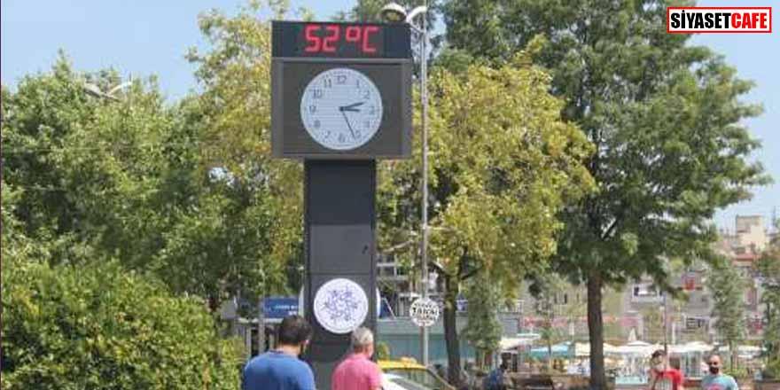 Aydın'da bunaltan sıcaklık! Termometreyi görenler inanamadı!