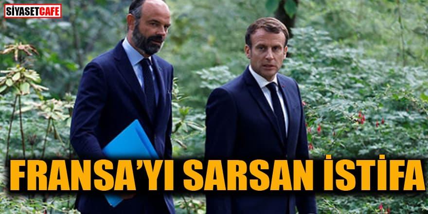 Fransa Başbakanı Edouard Philippe istifa ettiğini duyurdu!