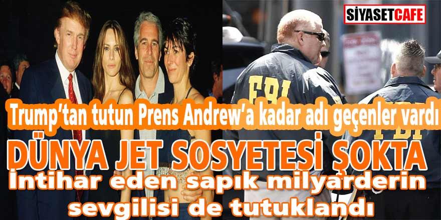 """FBI duyurdu: """"Sapık milyarder Epstein'in sevgilisi Ghislaine Maxwell tutuklandı!"""""""