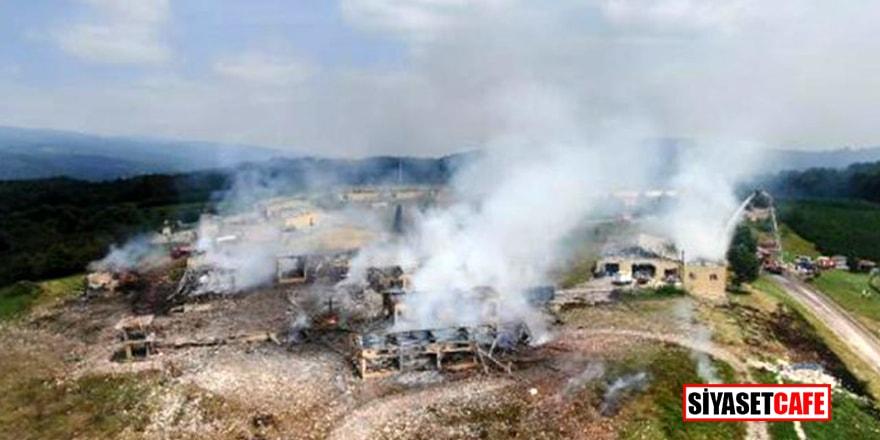 Havai fişek fabrikasındaki patlamada hayatını kaybedenlerin kimlikleri belli oldu