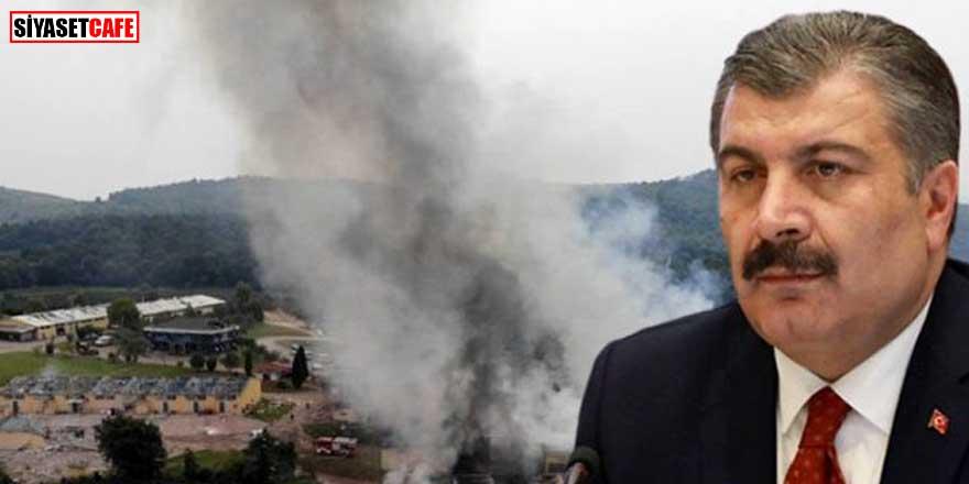Bakan Koca'dan patlama' açıklaması: Yaralanan 126 kişiden...