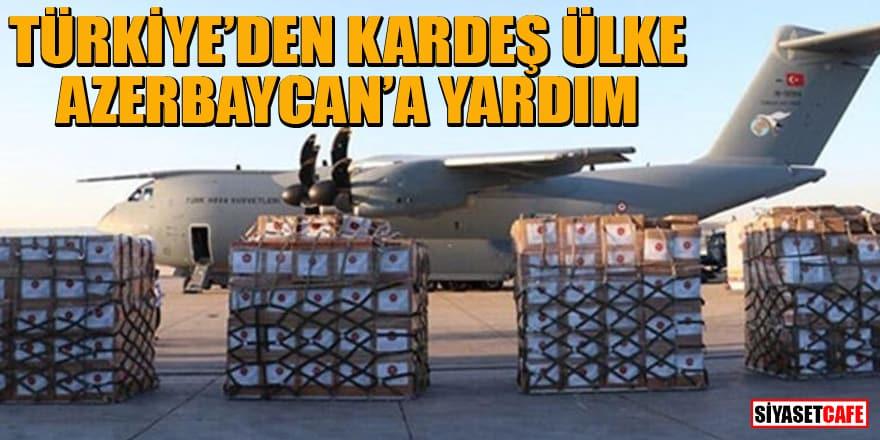 Türkiye'den kardeş ülke Azerbaycan'a koronavirüs yardımı