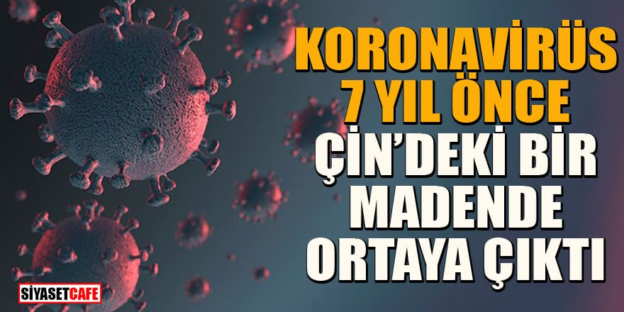 Flaş iddia! Koronavirüs yedi yıl önce Çin'deki bir madende ortaya çıktı!