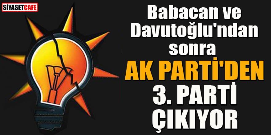 AK Parti'den yeni bir parti daha ortaya çıkıyor!