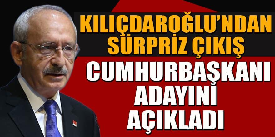 Kemal Klıçdaroğlu'ndan Cumhurbaşkanı adayı açıklaması
