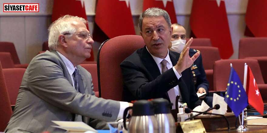 Bakan Akar'dan AB'ye: Türkiye'ye yönelik bazı yaklaşımlar kabul edilemez