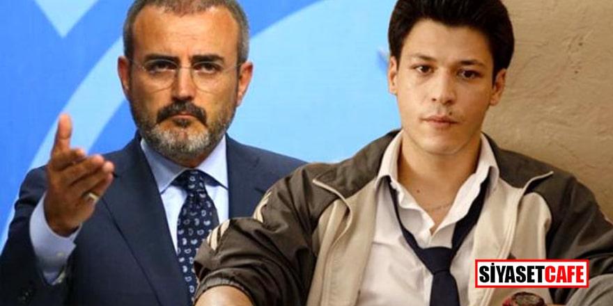 Ünlü oyuncudan AK Parti'li Ünal'ın Aşk 101 dizisi yorumuna cevap!