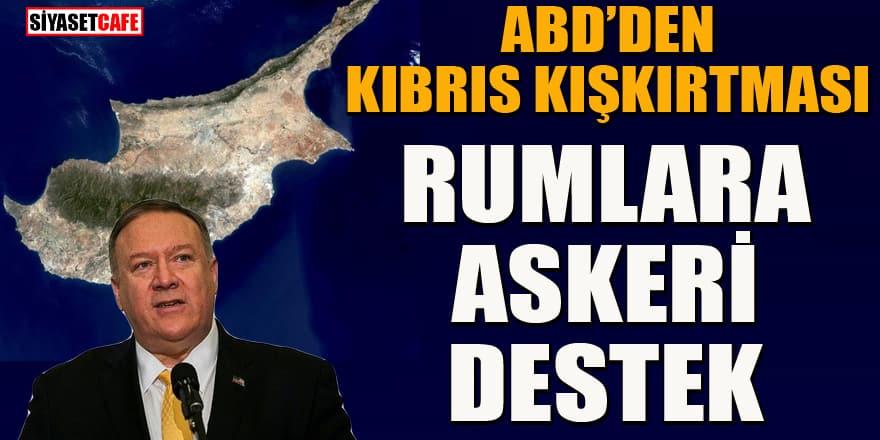 ABD'den Güney Kıbrıs Rum Yönetimi'ne askeri destek açıklaması
