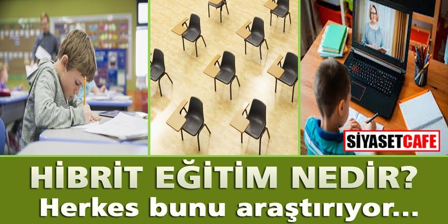 Sağlık Bakanı Koca'nın dünkü açıklamasından beri herkes onu arıyor: Hibrit eğitim ne demek ?