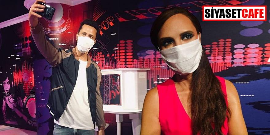 Madame Tussauds'un yıldızları artık maskeli