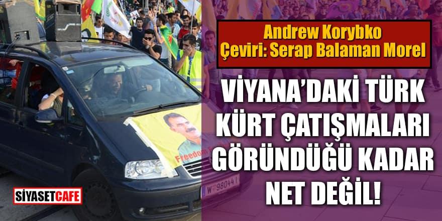 Viyana'daki Türk-Kürt Çatışmaları göründüğü kadar net değil