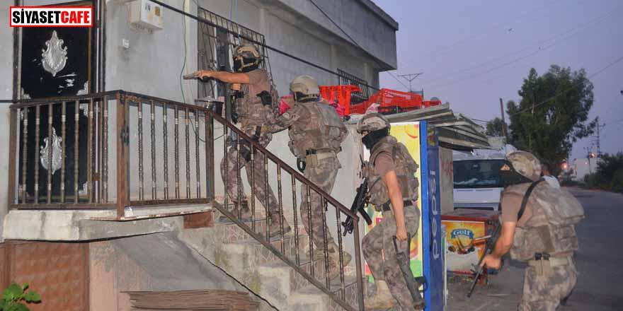 Adana'da terör operasyonu: 17 gözaltı kararı