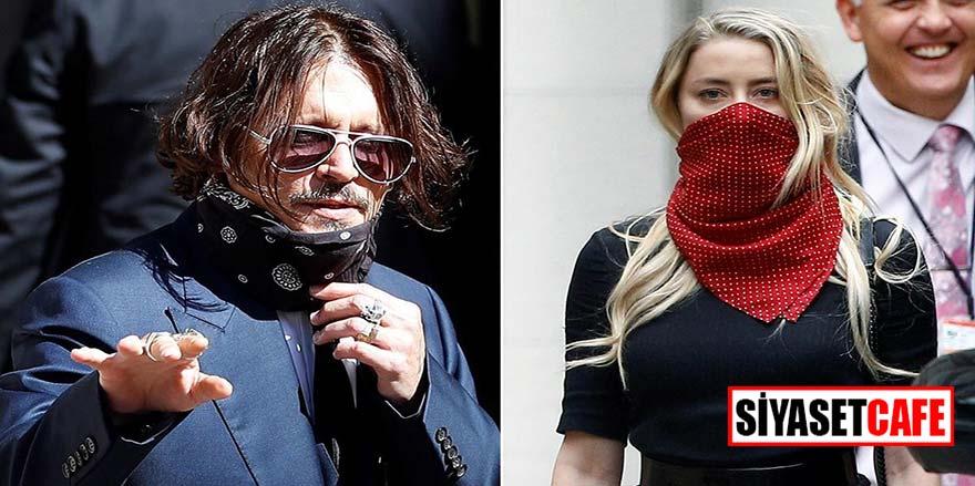 Son yüzyılın en skandal davalarından biri Johnny Depp Amber Heard davasında kanlı parmak detayı