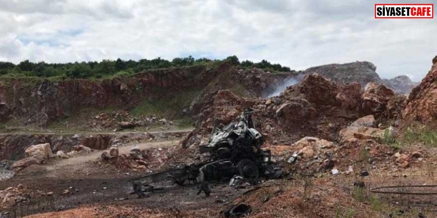 Jandarma'dan '3 askerin şehit olduğu Sakarya patlaması' hakkında açıklama