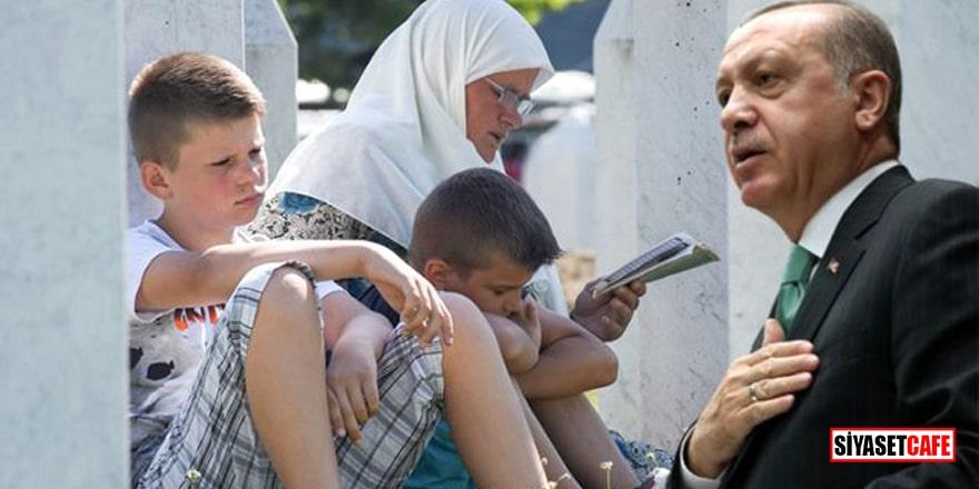 Erdoğan'dan Srebrenitsa Soykırımı mesajı
