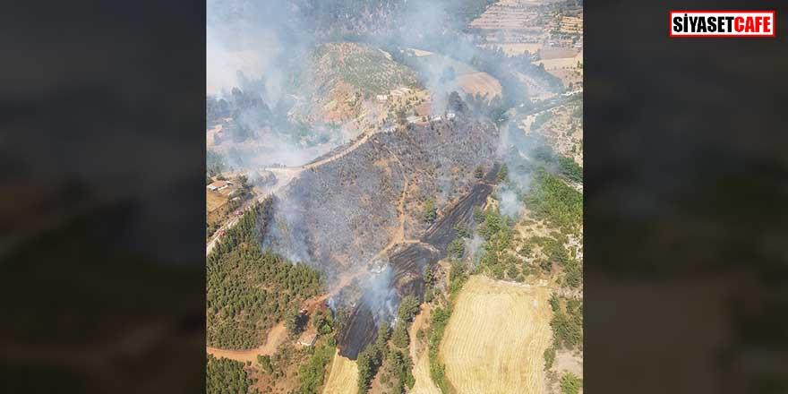 Türkiye'nin ciğerleri yanıyor! Denizli'de orman yangını çıktı