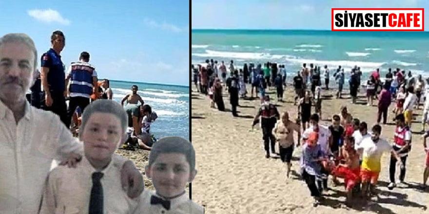 2 çocuğunu kurtarmak istedi, onlarla birlikte öldü