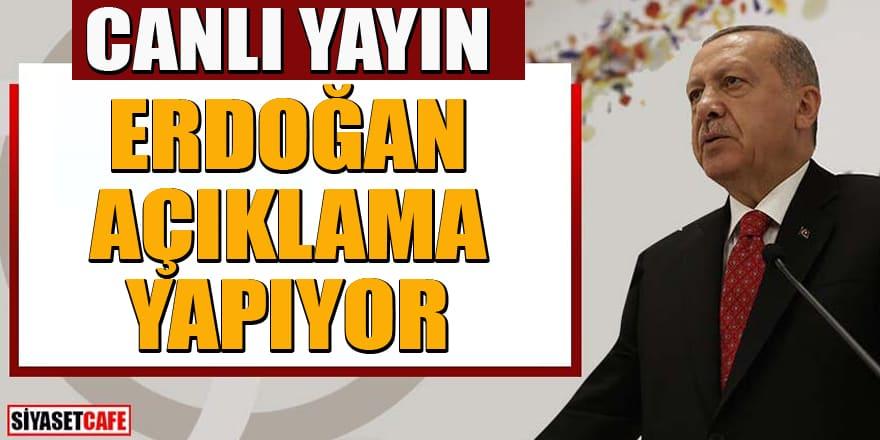 Erdoğan'dan kabine toplantısı sonrası önemli koronavirüs açıklaması
