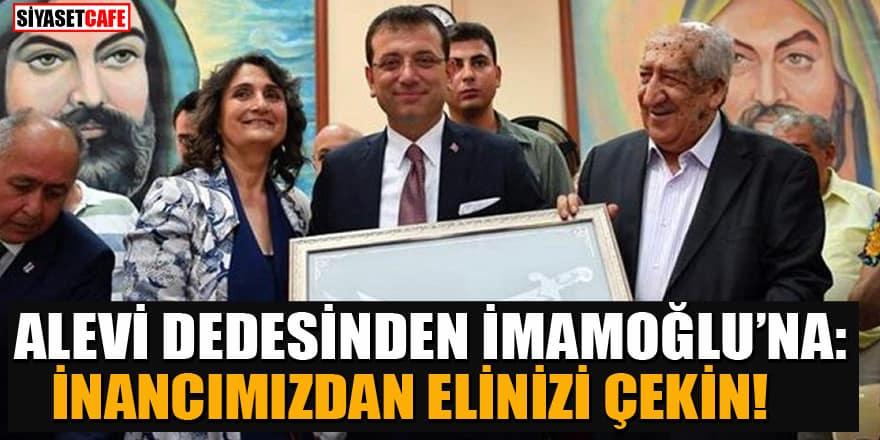 Alevi dedesi İmamoğlu'na isyan etti: Cemevlerini partinin arka bahçesine çevirdiler
