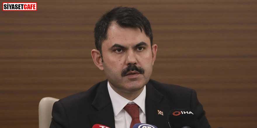 Bakan Murat Kurum'dan Kanal İstanbul hakkındaki iddialara açıklama