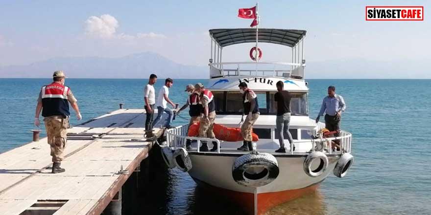 Van Gölü'ndeki sığınmacı teknesi faciasında can kaybı 37 oldu