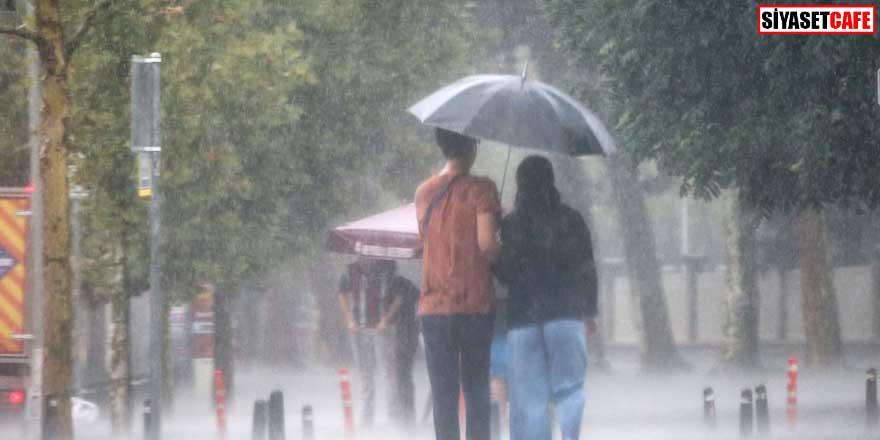 Meteoroloji'den kritik uyarı: Sağanak yağış geliyor