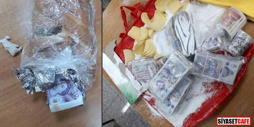 İngiltere'den Türkiye'ye gelen gurbetçi ekmek arasına sterlin sakladı! Paraya el koyuldu