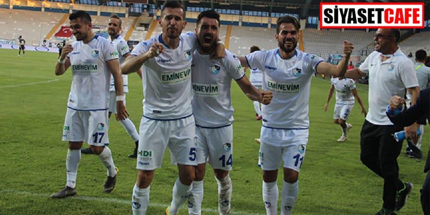 BB Erzurumspor yeniden Süper Lig'de