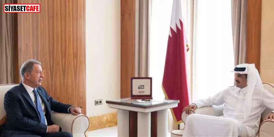 Bakan Akar'dan, Katar'da Al Thani ile kritik görüşme