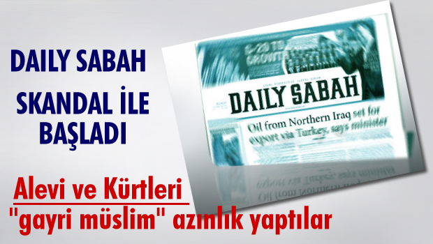 Daily Sabah'a göre Alevi ve Kürtler 'gayri Müslim'