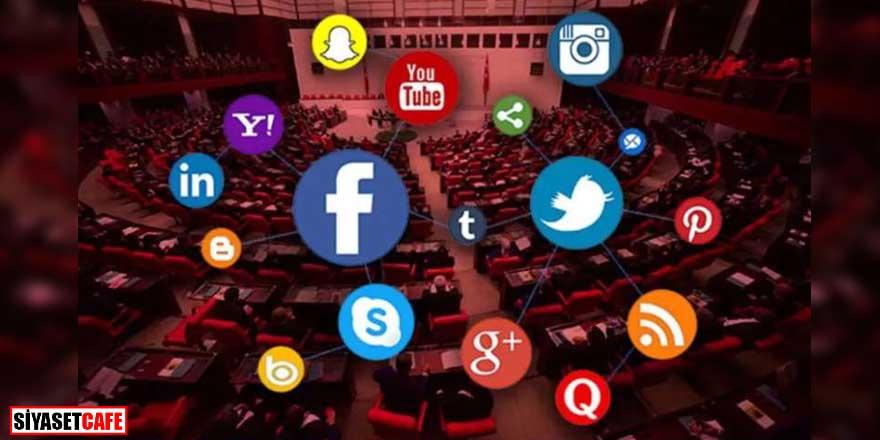 AK Parti'nin 11 maddelik 'sosyal medya' teklifi Erdoğan'a sunuldu!