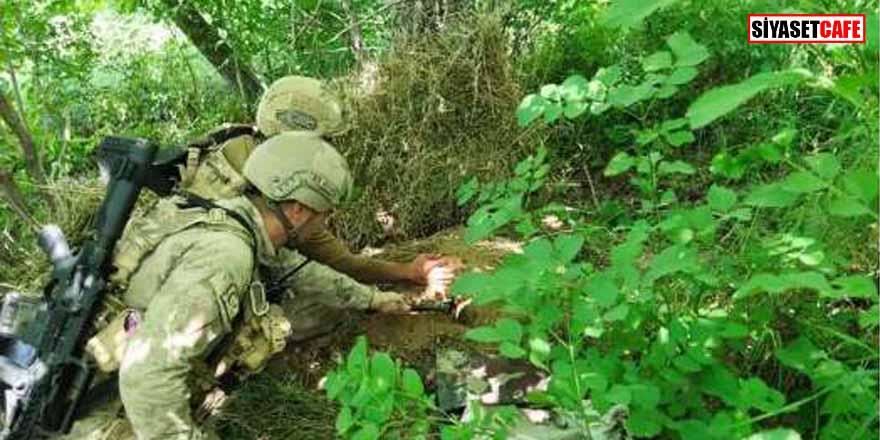 Hakkari Valiliği açıkladı:  PKK'ya ait malzemeler ele geçirildi