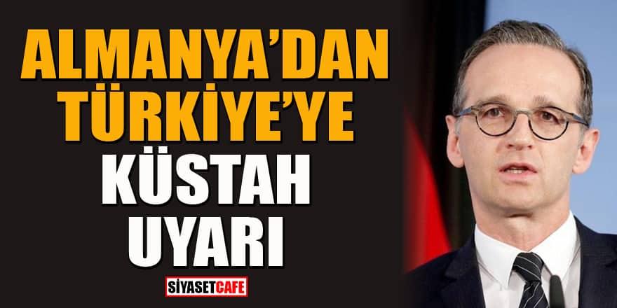 Almanya Dışişleri Bakanı Heiko Maas'tan Türkiye'ye provokasyon suçlaması